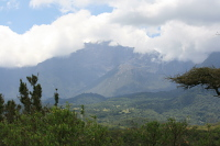 Mount Meru i Arusha National Park