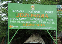 Udzungwa nationalpark